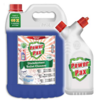 PaxChem PowerPax Disinfectant Toilet Cleaner