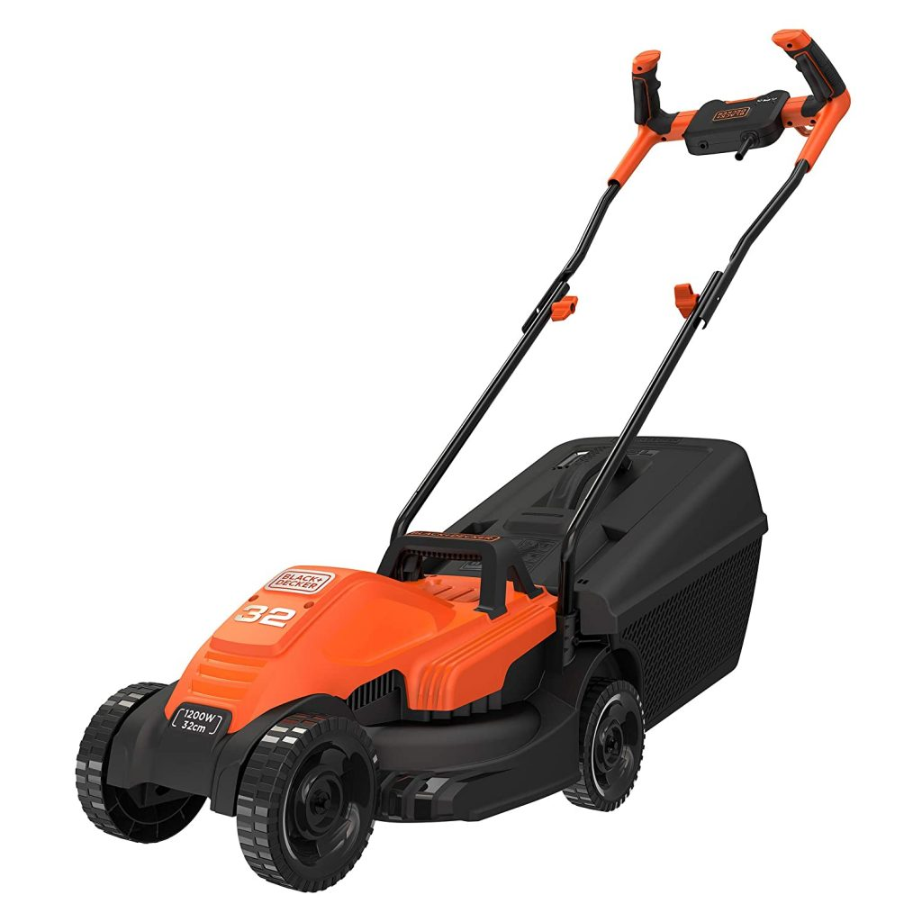 BLACK + DECKER Electric 1200 Watt Lawn Mower With Bike Handle