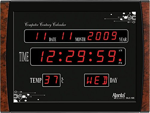 Ajanta Quartz Digital Clock