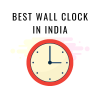 best wall clock in india