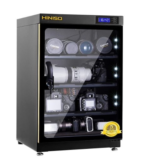 HINISO AD 80L 80 litres Camera Dry Cabinet with Electronic Display