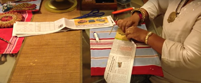 How to Make Newspaper Wall Hanging (Best from Waste)